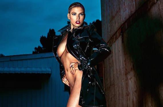 Charlotte McKinney Nude In GQ