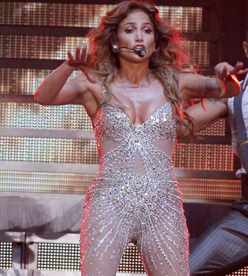Jennifer Lopez Nipple Slip Collection