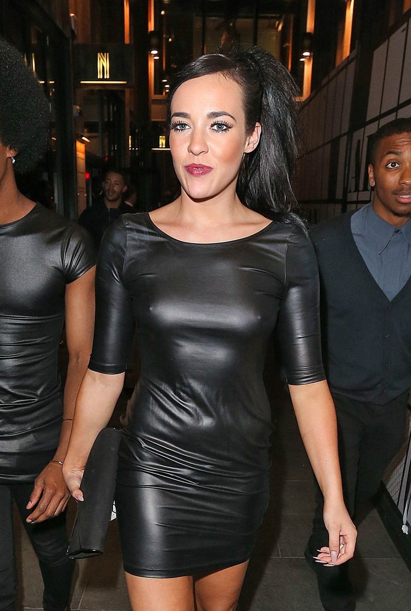 stephanie-davis-braless-pokies-in-leather-dress-1.jpg