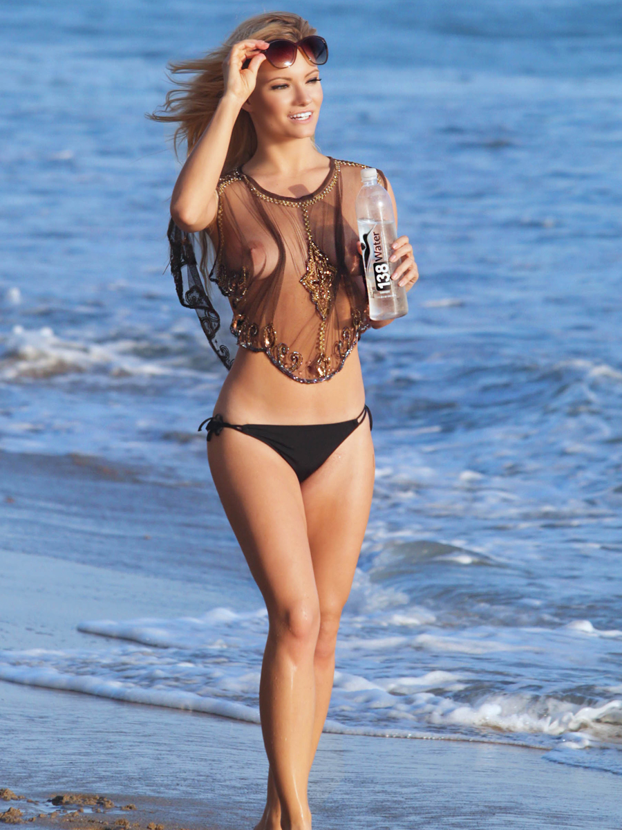 Caitlin OConnor See Through For 138 Water Photoshoot