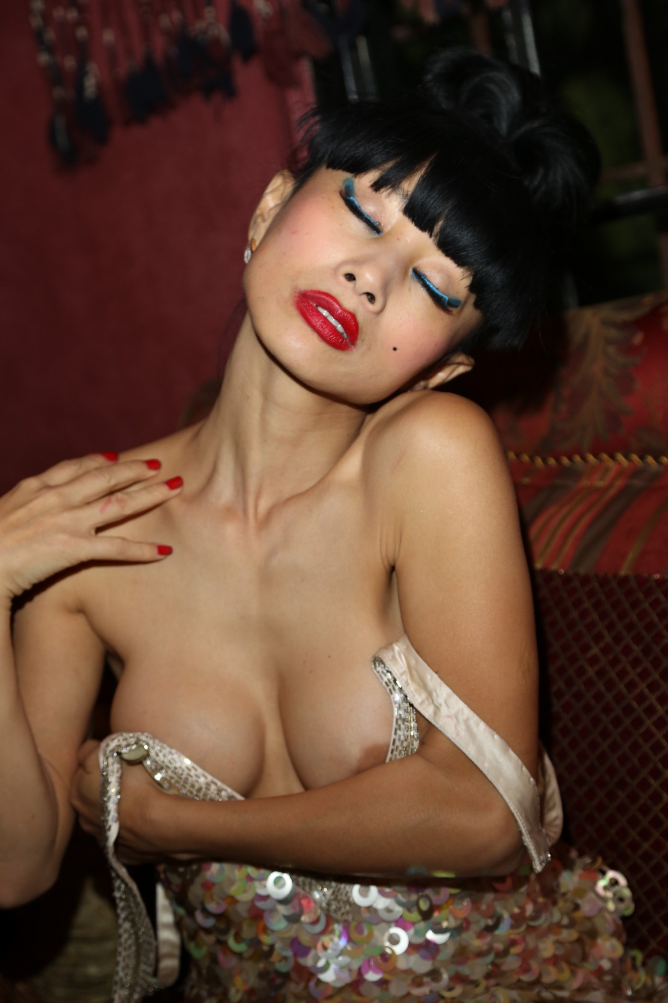 bai-ling-nipple-slip-at-sue-wong-new-years-eve-party-7