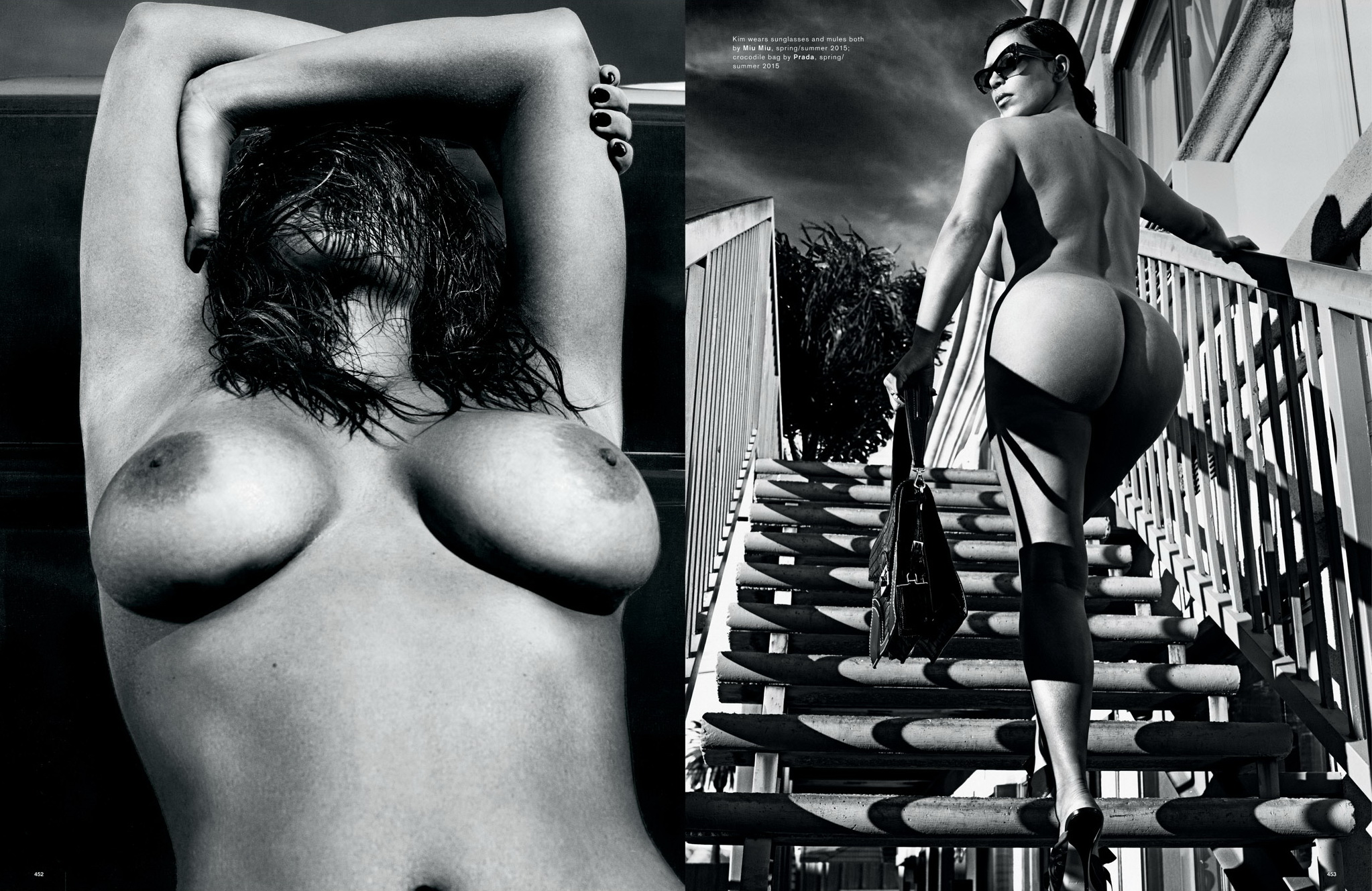 foto Kim kardashian naked 2 pics