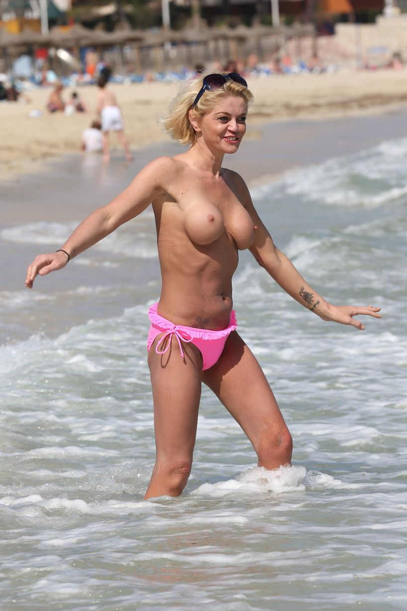 from Brycen sexy nude womens in the beach of spain