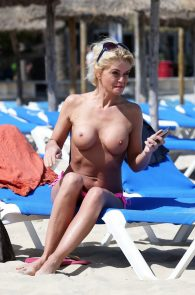 danniella-westbrook-topless-on-the-beach-in-spain-6