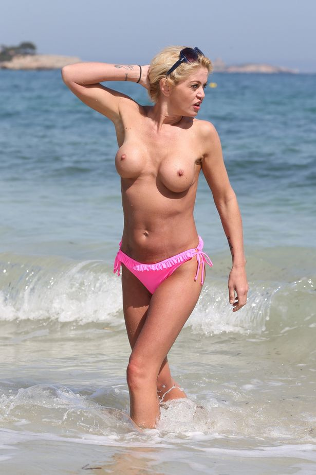 danniella-westbrook-topless-on-the-beach-in-spain-9