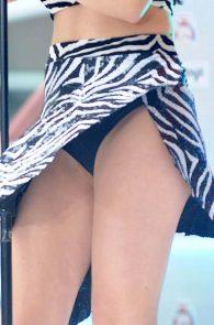 charli-xcx-zebra-skirt-upskirt-7
