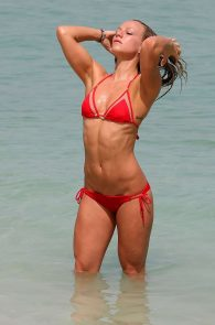 chloe-madeley-smoking-hot-in-a-red-bikini-1