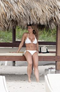 gemma-atkinson-white-bikini-in-cuba-11