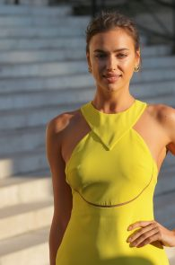 People arriving at Versace's Fall-Winter 2015/2016 Haute Couture collection show held at Palais Brongniart in Paris, France. 5 July 2015.   6 July 2015.  Please byline: Vantagenews.co.uk