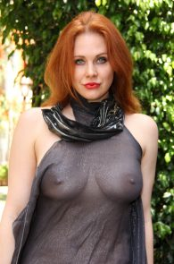 maitland-ward-see-through-to-nipples-comi-con-party-10