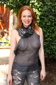 maitland-ward-see-through-to-nipples-comi-con-party-13