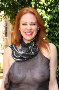 maitland-ward-see-through-to-nipples-comi-con-party-14