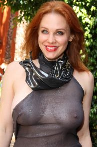 maitland-ward-see-through-to-nipples-comi-con-party-15