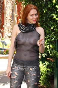 maitland-ward-see-through-to-nipples-comi-con-party-19