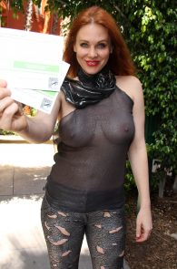 maitland-ward-see-through-to-nipples-comi-con-party-3