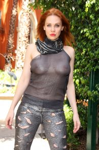 maitland-ward-see-through-to-nipples-comi-con-party-6