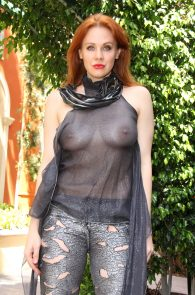 maitland-ward-see-through-to-nipples-comi-con-party-8