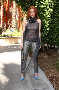 maitland-ward-see-through-to-nipples-comi-con-party-9