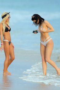 kylie-jenner-pia-mia-perez-wearing-bikini-on-the-beach-mexico-08