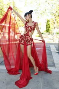 bai-ling-pantyless-and-nipples-in-see-through-outfit-11