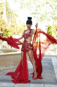bai-ling-pantyless-and-nipples-in-see-through-outfit-12