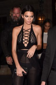 kendall-jenner-see-through-outfit-pierced-nipples-ass-in-thong-paris-13