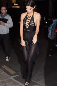 kendall-jenner-see-through-outfit-pierced-nipples-ass-in-thong-paris-15