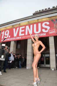 micaela-schaefer-nude-at-venus-2015-exhibition-opening-in-berlin-2