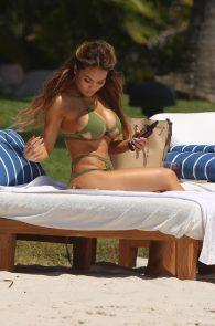 daphne-joy-wearing-a-green-bikini-in-punta-mita-18