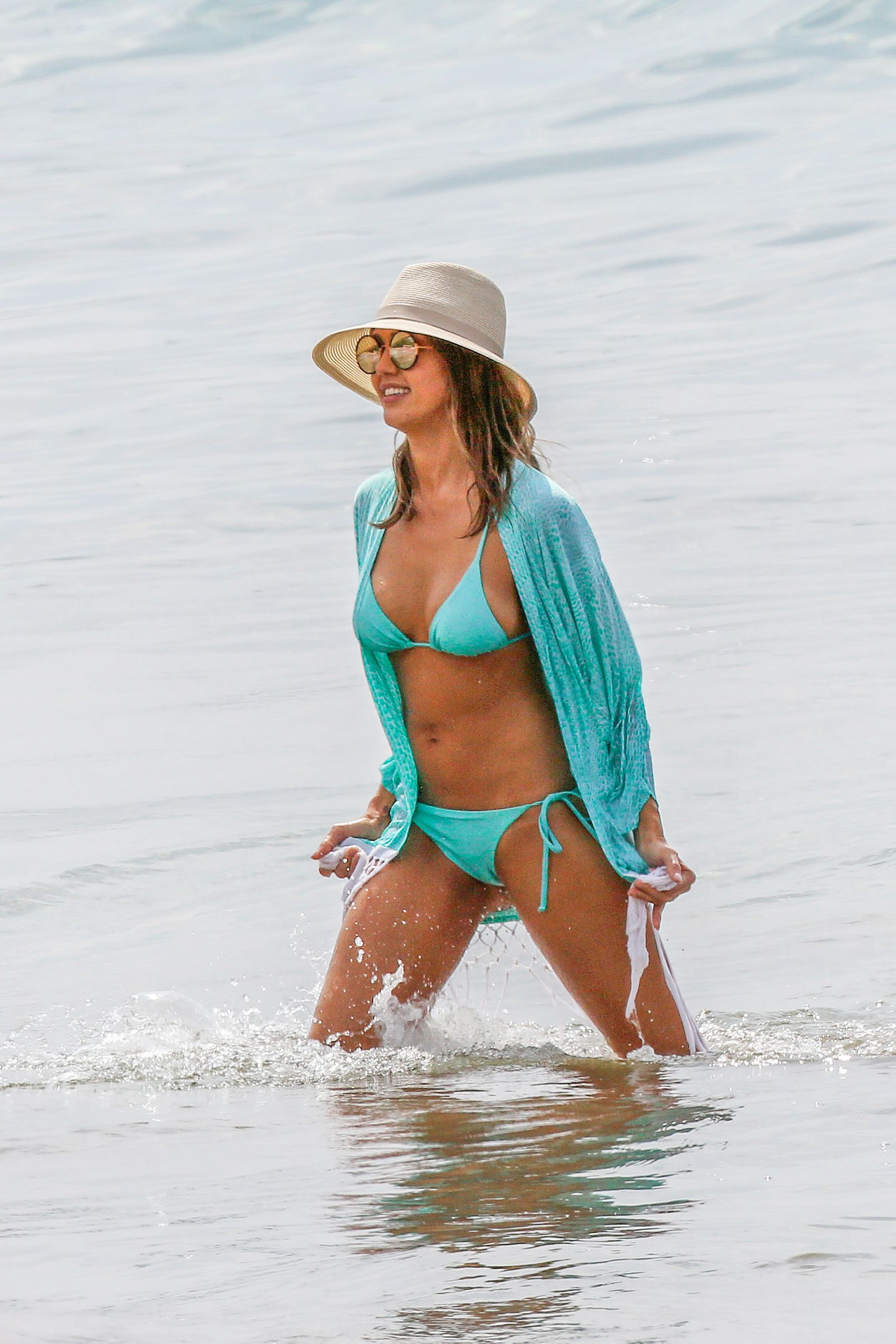 Opinion jessica alba blue bikini
