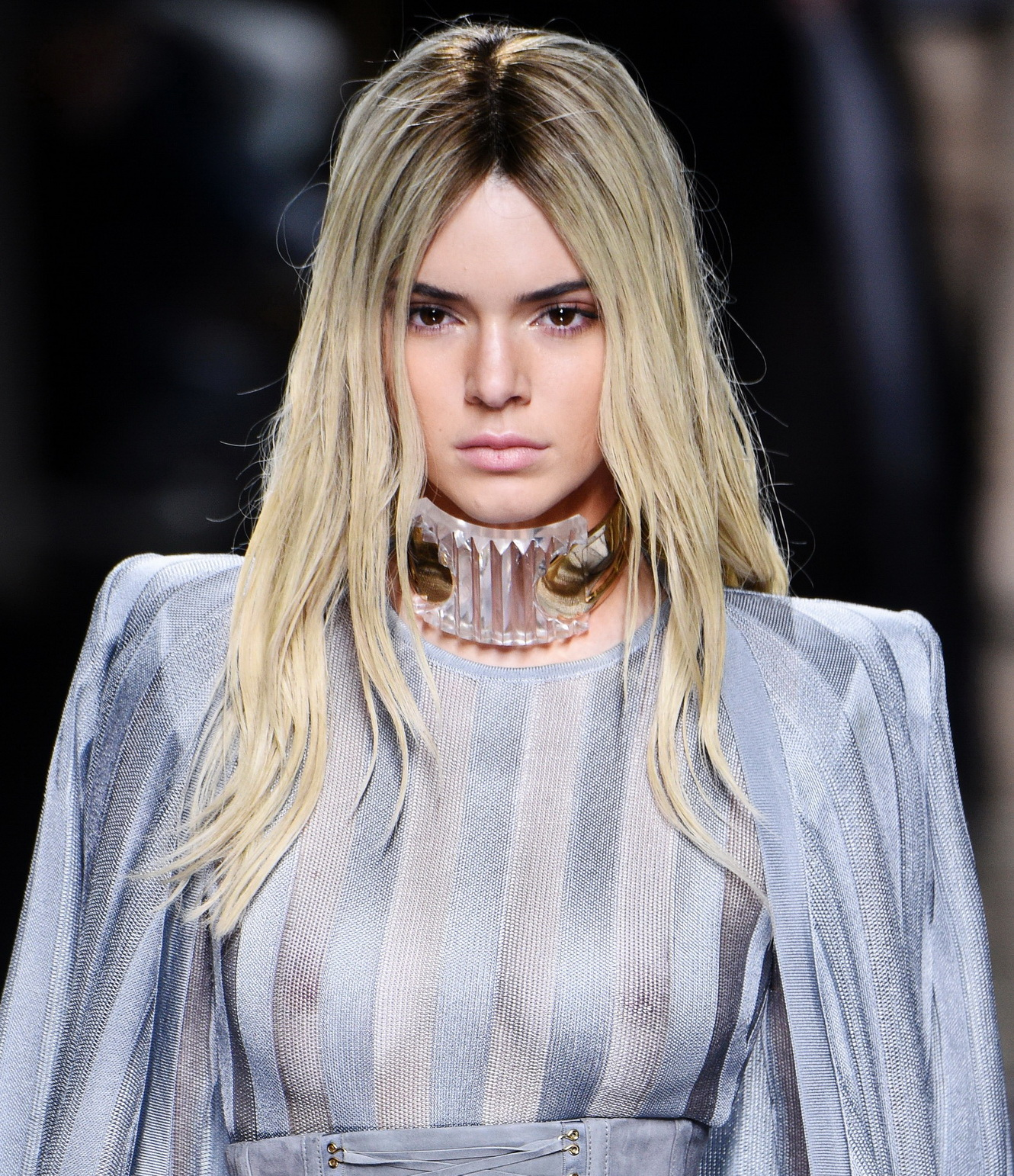 kendall-jenner-see-through-top-at-balmain-show-10