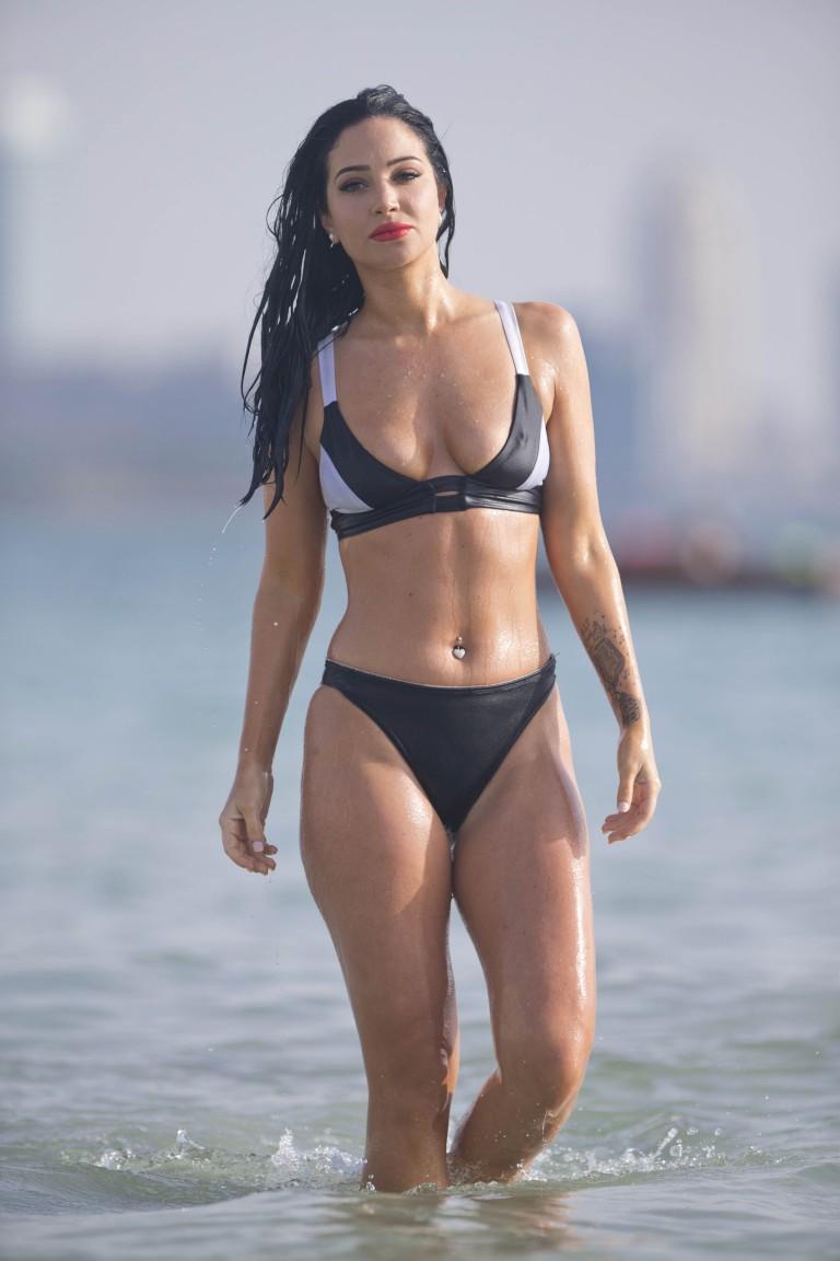 tulisa topless