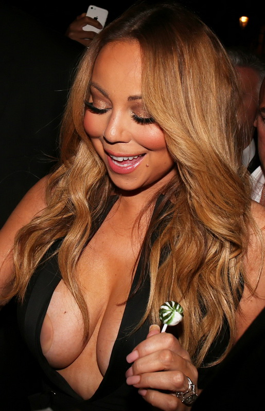 Mariah carey huge tits speaking, would