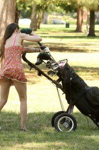 alicia-arden-ass-flash-pink-thong-panties-upskirt-golf-swing-15
