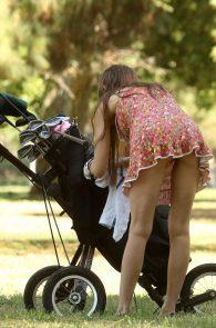 alicia-arden-ass-flash-pink-thong-panties-upskirt-golf-swing-24