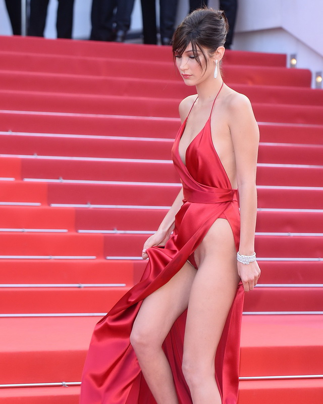bella-hadid-pubes-at-la-fille-inconnue-premiere-in-cannes-34