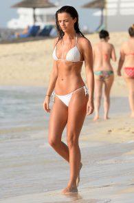 lucy-mecklenburgh-insanely-hot-in-white-bikini-in-dubai-04