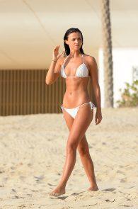 lucy-mecklenburgh-insanely-hot-in-white-bikini-in-dubai-05