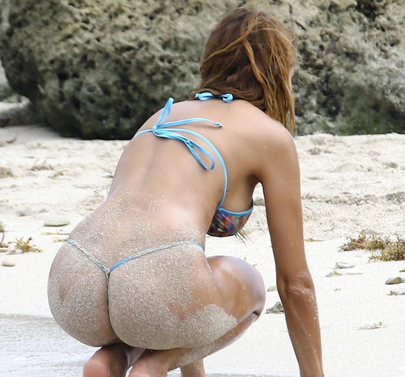 Load hit beach bikini slips needs stronger muscle