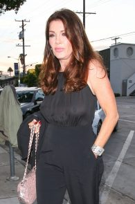 lisa-vanderpump-braless-see-through-top-at-craigs-11