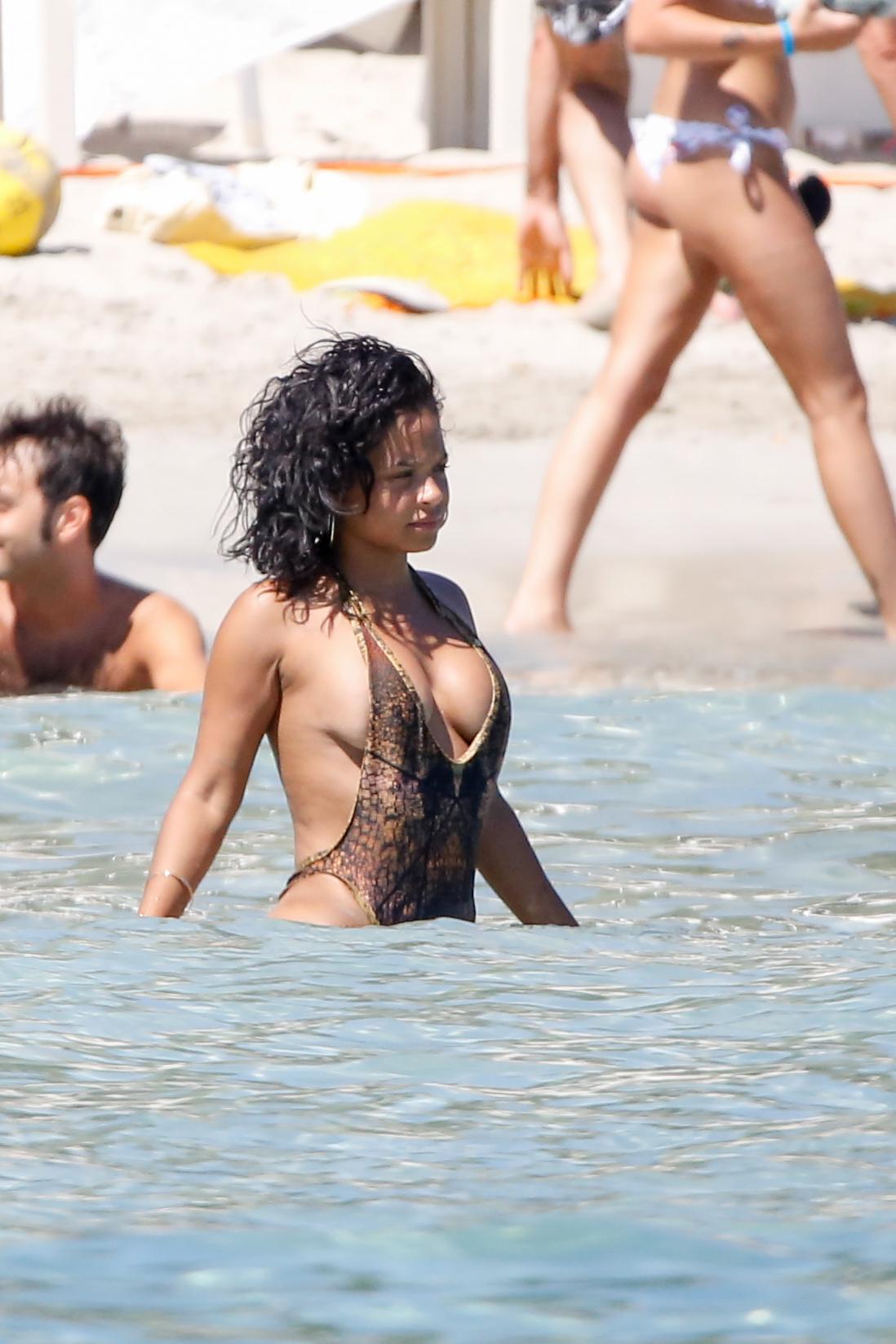 Nude christina milian nipple