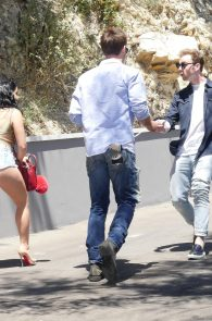 ariel-winter-cleavage-and-ass-cheeks-at-just-jared-summer-bash-19