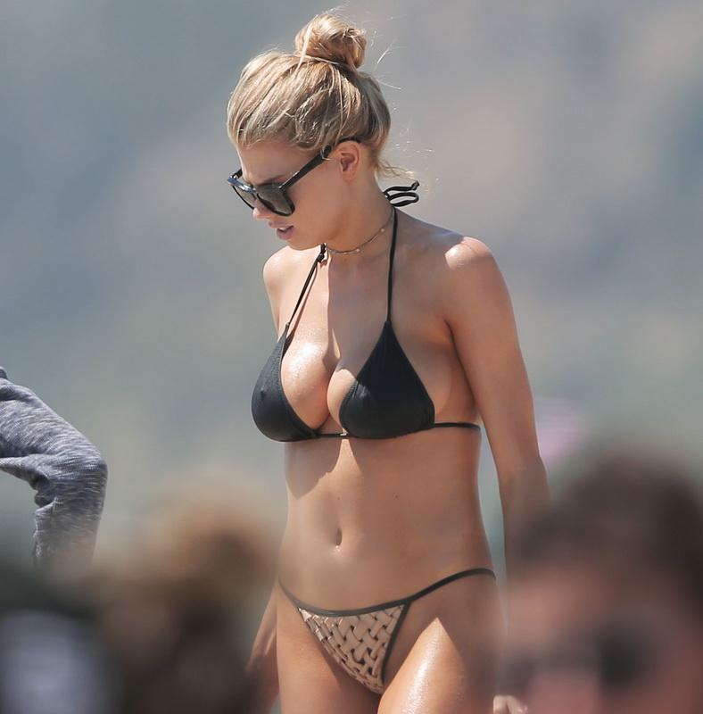 charlotte-mckinney-wearing-a-bikini-in-santa-monica-20