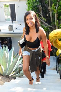 christina-milian-braless-deep-cleavage-at-a-pool-party-17