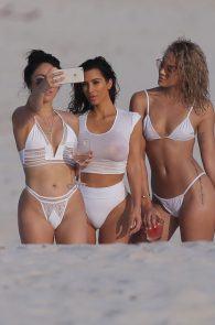 kim-kardashian-wet-shirt-bikini-on-a-beach-in-mexico-18