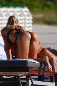 laura-cremaschi-wearing-a-thong-bikini-pussy-lips-in-miami-beach-11