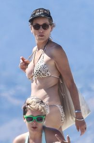 Apologise, but, Sharon stone naked at beach consider, that