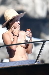 sophie-marceau-topless-on-a-yacht-in-capri-02