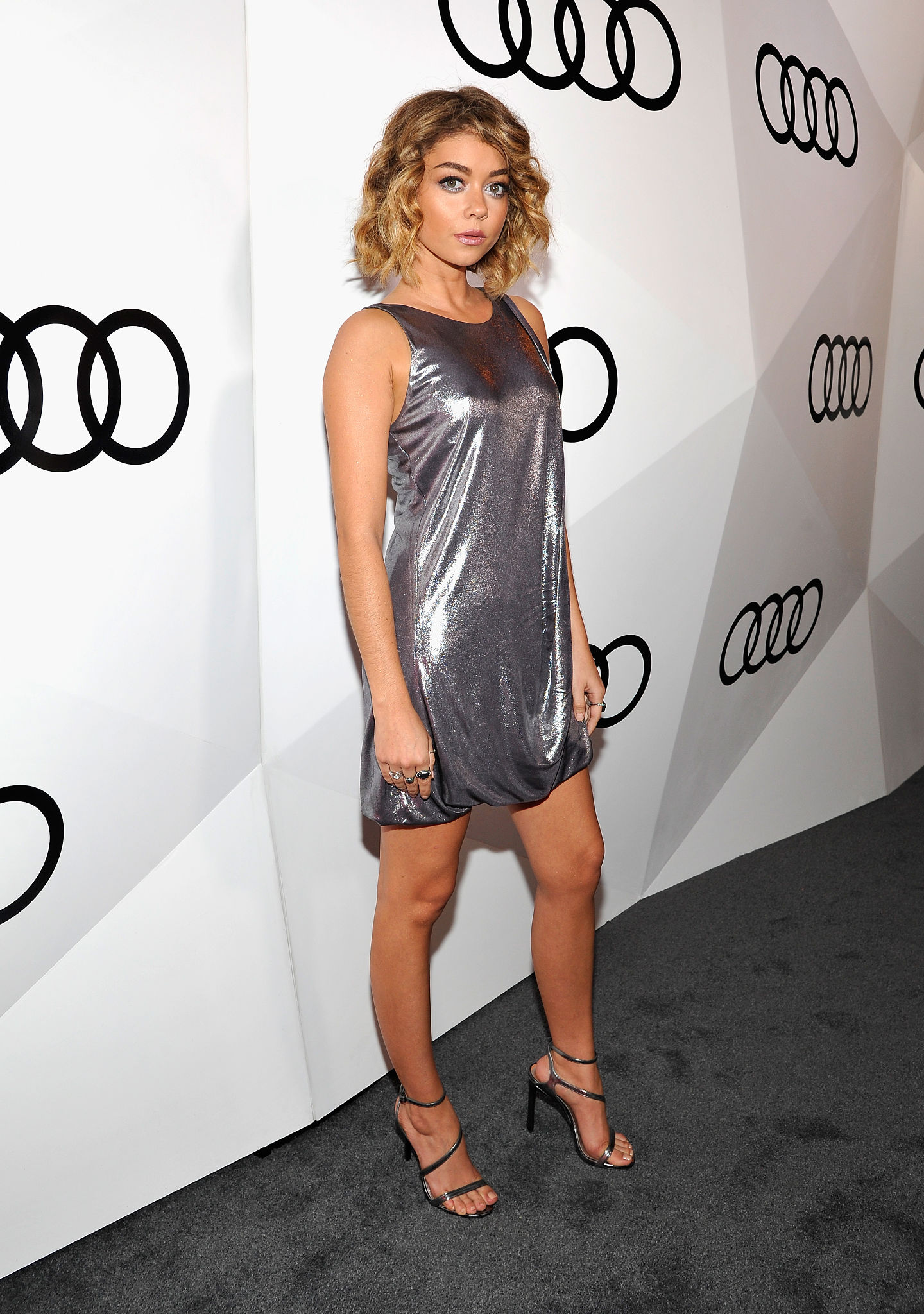 Sarah Hyland Pokies At Audi Pre Emmy Party 03 Celebrity