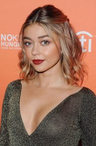 sarah-hyland-braless-in-see-through-ish-top-in-los-angeles-16